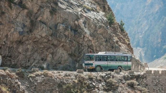 Travelling via Bus