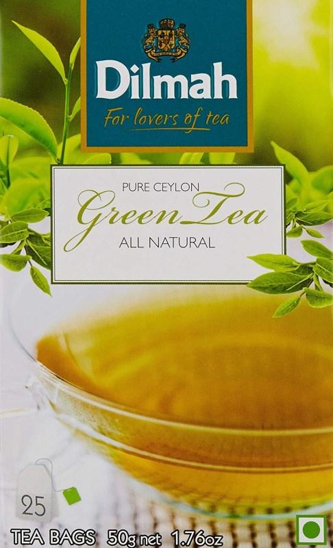 Herbal Tea Brand Dilmah Ceylon Natural Green Tea