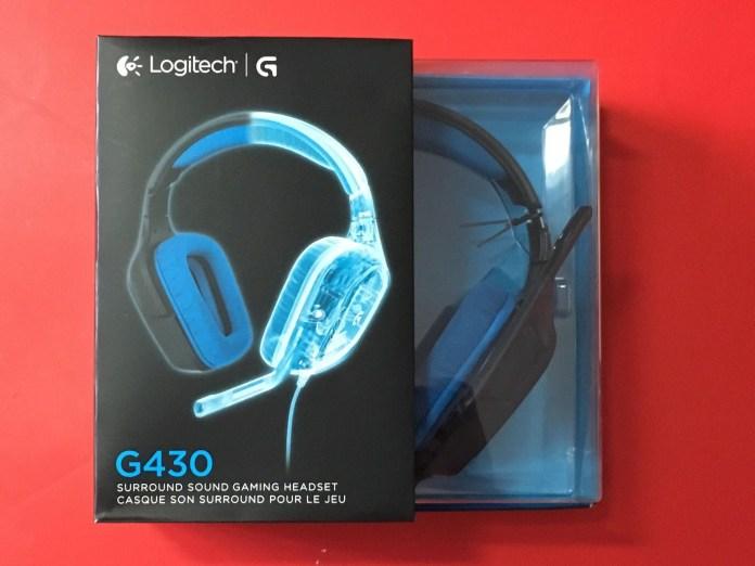 Gaming Headset Logitech G430