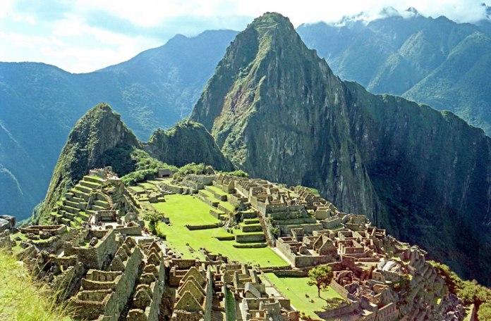 Inca city of Peru