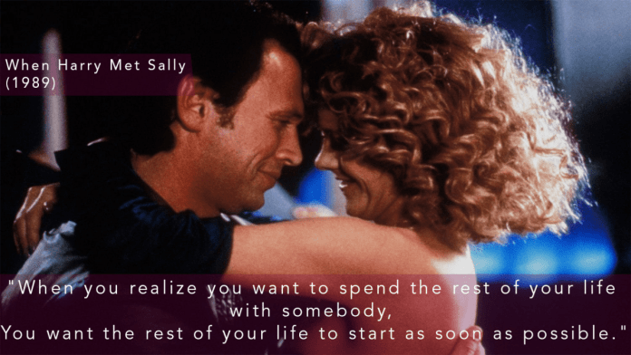 Dialogue from When Harry Met Sally - (1989)