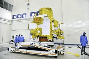 The Orbiter at the integration facility