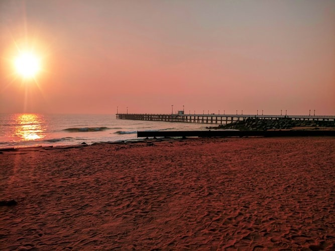 Pondicherry sunset