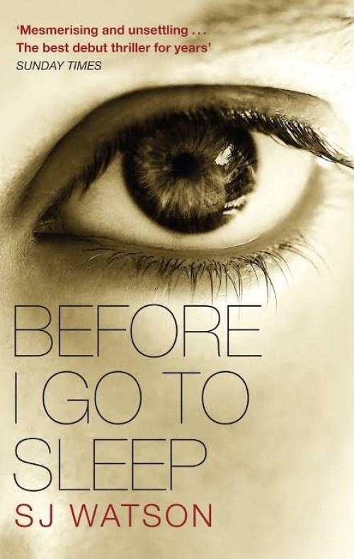 Before I Go To Sleep: S.j.watson