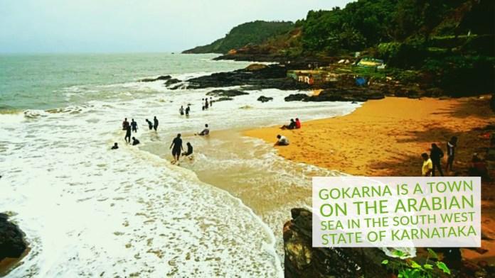 Gokarna is a town on the Arabian Sea in the Southern west state of Karnataka