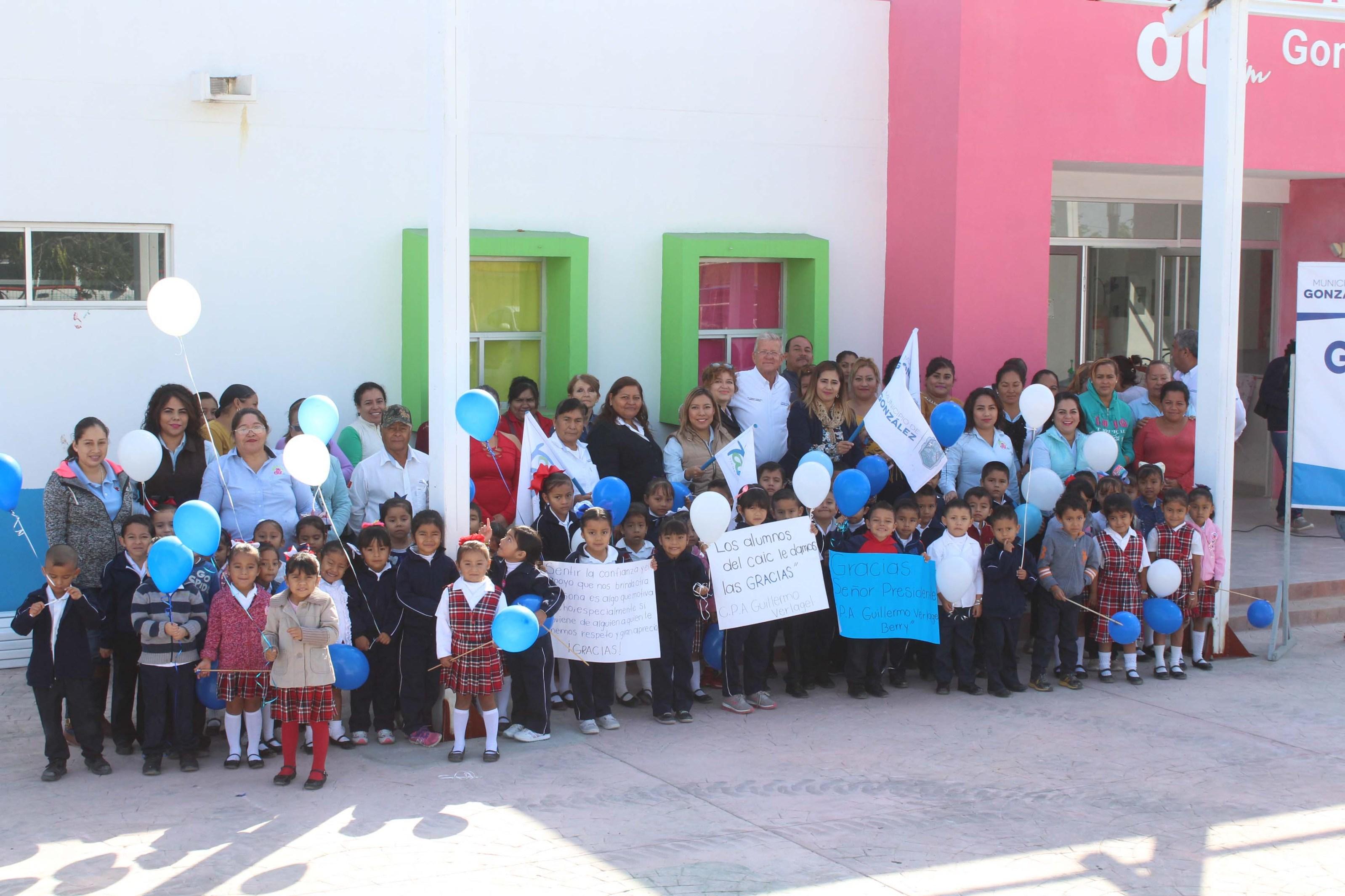Construyen techumbre para niños del CAIC Villa Manuel » Centro ...