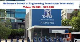 Melbourne Engineering Foundation International Scholarship Awards 2020-2021 (Masters Awards in Australia)