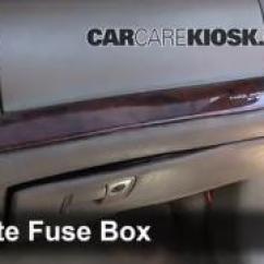 2003 Buick Century Wiring Diagram 1986 Toyota Mr2 Radio Interior Fuse Box Location: 1997-2005 Park Avenue - 1998 3.8l V6