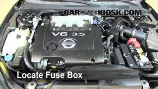 2002 altima fuse box diagram two way lighting wiring uk interior location: 2002-2006 nissan - 2006 se 3.5l v6
