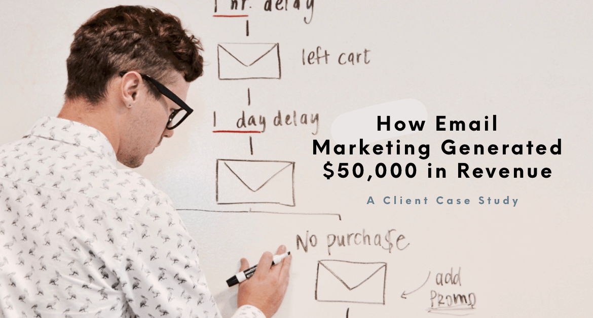 How Email Marketing Generated $50,000 In Revenue For Our Client