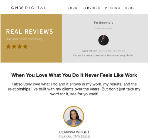 CNW Digital Testimonial Email Marketing Automation