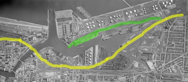 My Track Plan - Modeling the CNW in Milwaukee in 1957