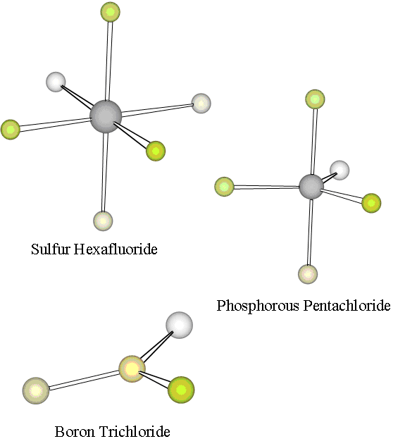 7: Molecular Geometry and Electron Domain Theory