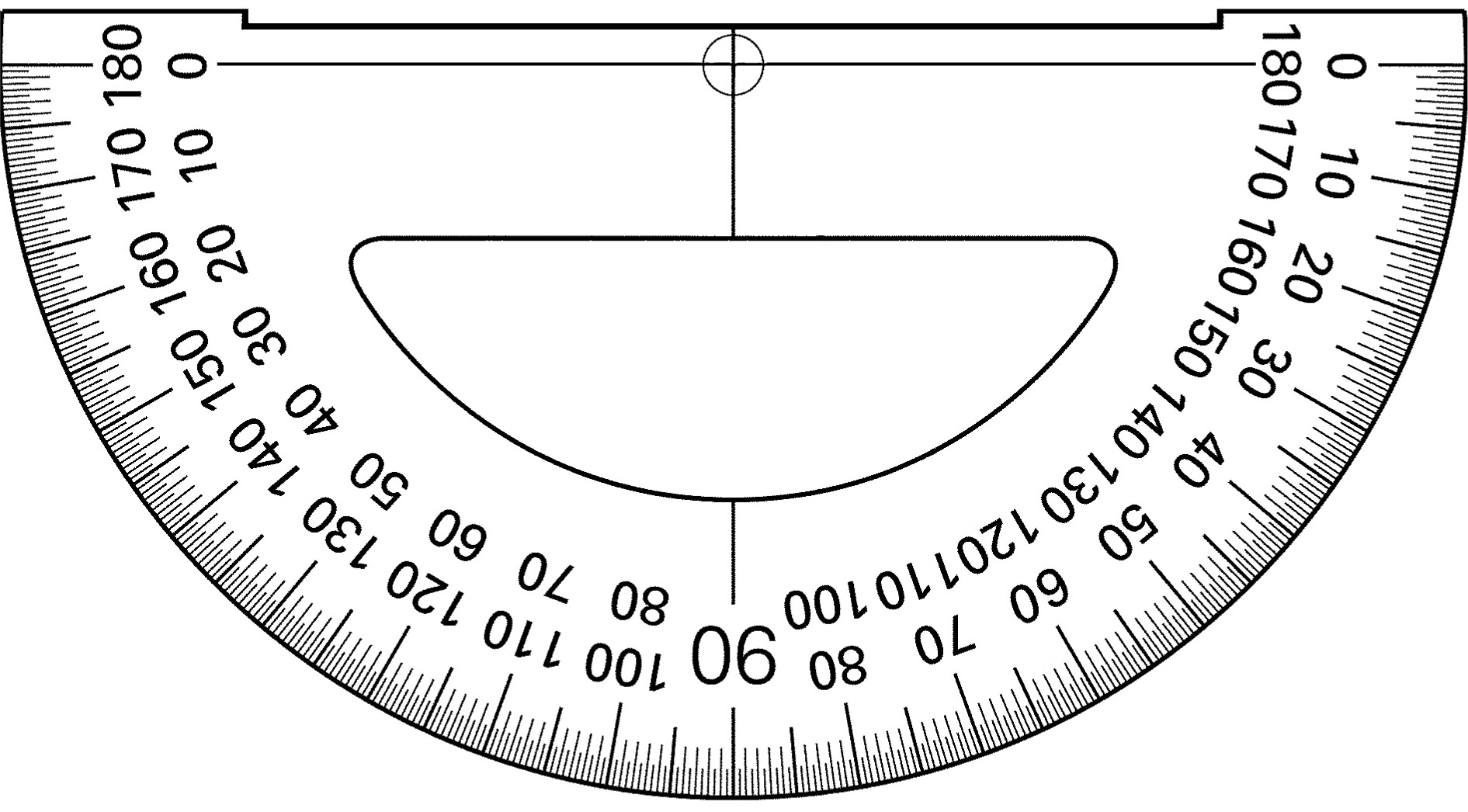 Print Out A Protractor