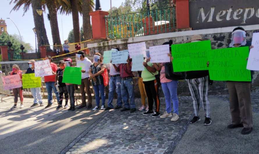 Denuncian acoso y abusos desde el gobierno de Metepec