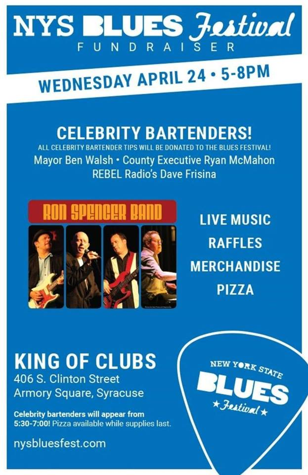 NYS Blues Festival Fundraiser at King of Clubs