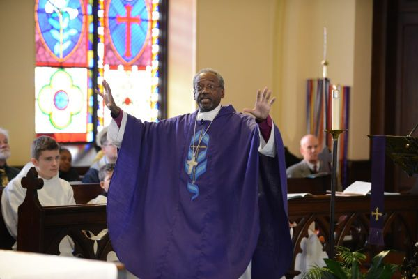 Presiding Bishop Michael Curry Visits Grace