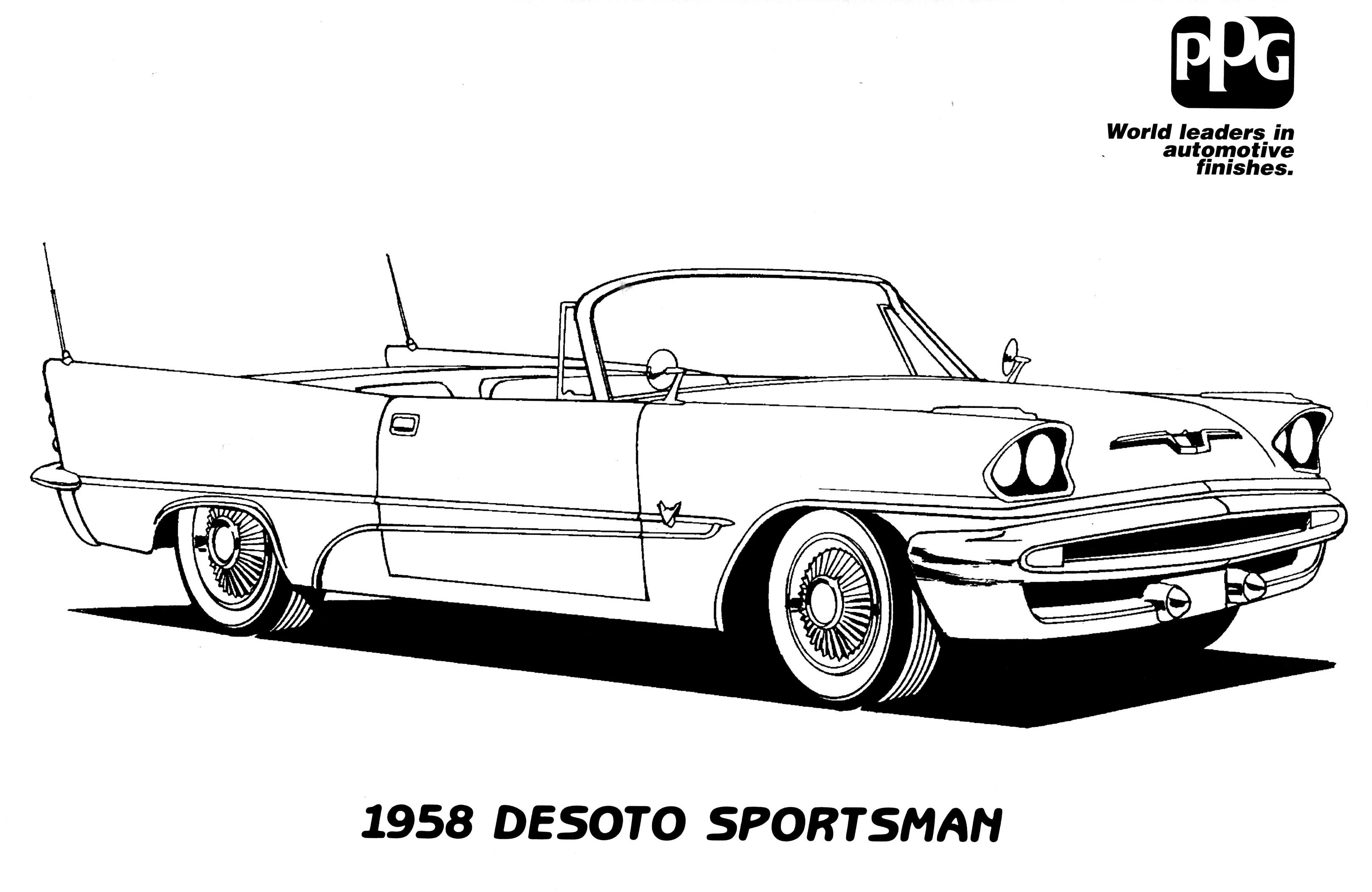 Kleurplaat Dodge Daytona 2006 Dodge Magnum SRT 8 Coloring