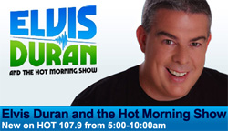 Duran promo graphic, as seen on hot1079.com 8/12/2010