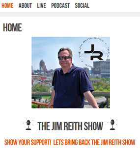 Screenshot of jimreith.com