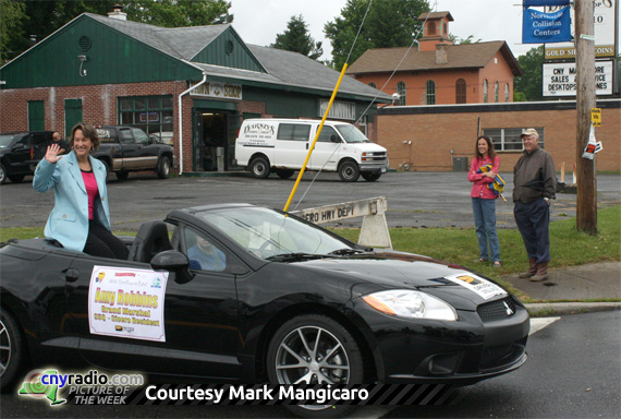POTW 6/22/2012 - Amy Robbins as Grand Marshal of Cicero Community Festival Parade