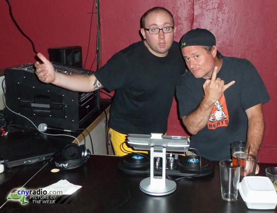 Josh Grosvent, Hunter Scott, 95X, WAQX, Syracuse radio