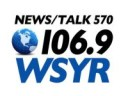 WSYR 106.9 and 570