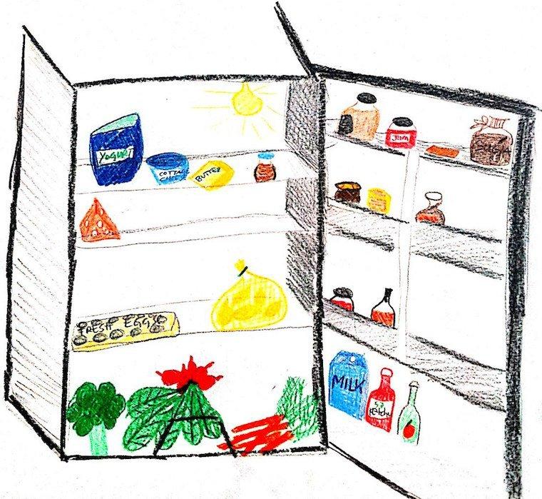 draw me a fridge
