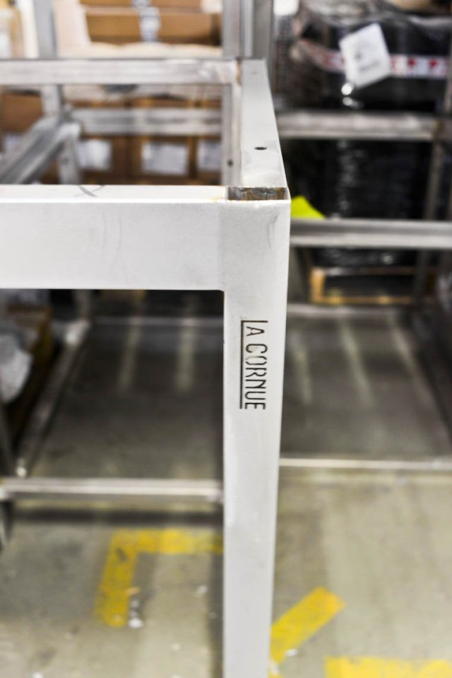The frame of the range is emerging.