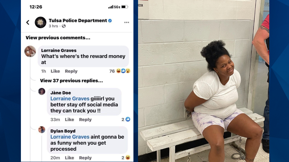 'Where's the Reward Money At?': Shooting Suspect Responds To Police Facebook Post Seeking Her Own Arrest
