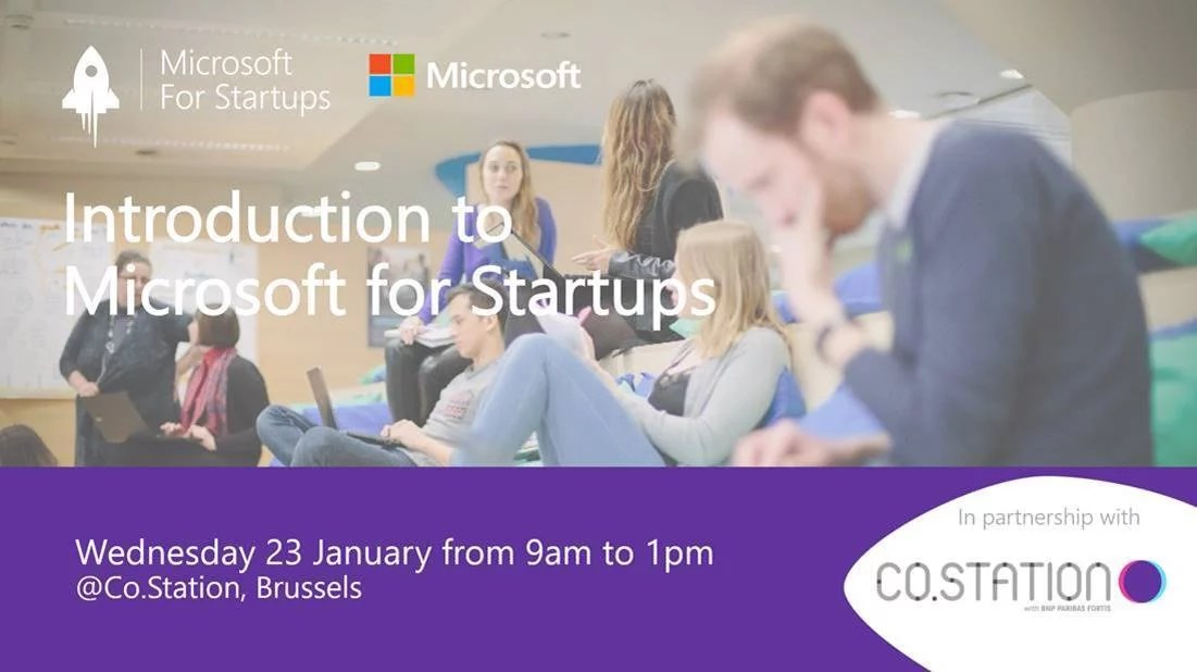 Co.Station Events | Microsoft for Startups is coming to Co.Station