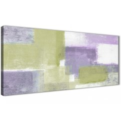 100 Cm Wide Sofa Bed Create Your Own Lime Green Purple Abstract Painting Canvas Wall Art Print ...