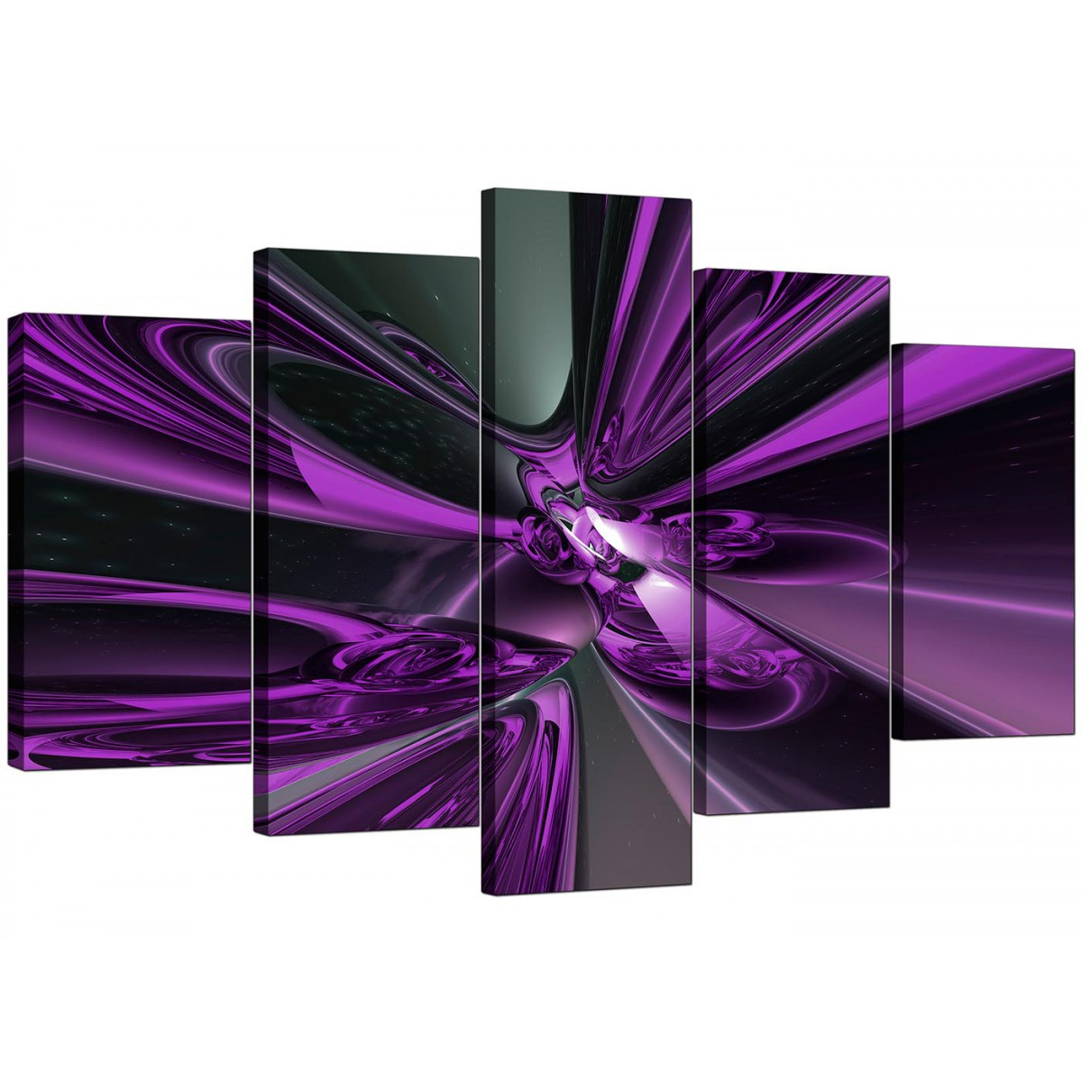 dark teal sofa hospital bed extra large purple abstract canvas prints uk - 5 piece