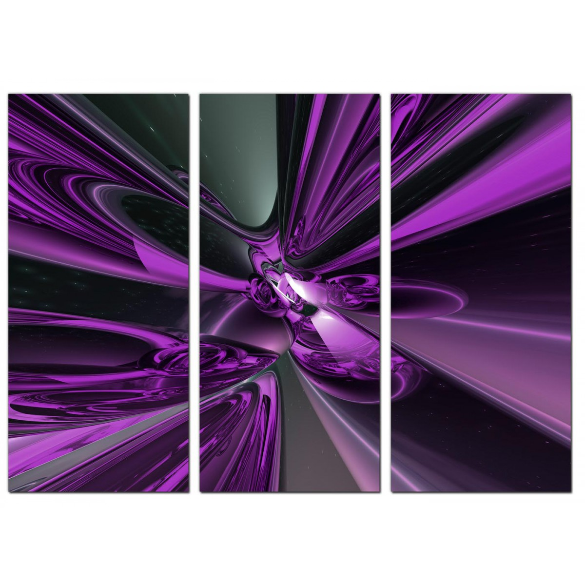 pink sofa bed for sale wesley hall reviews large abstract canvas art three panel in purple
