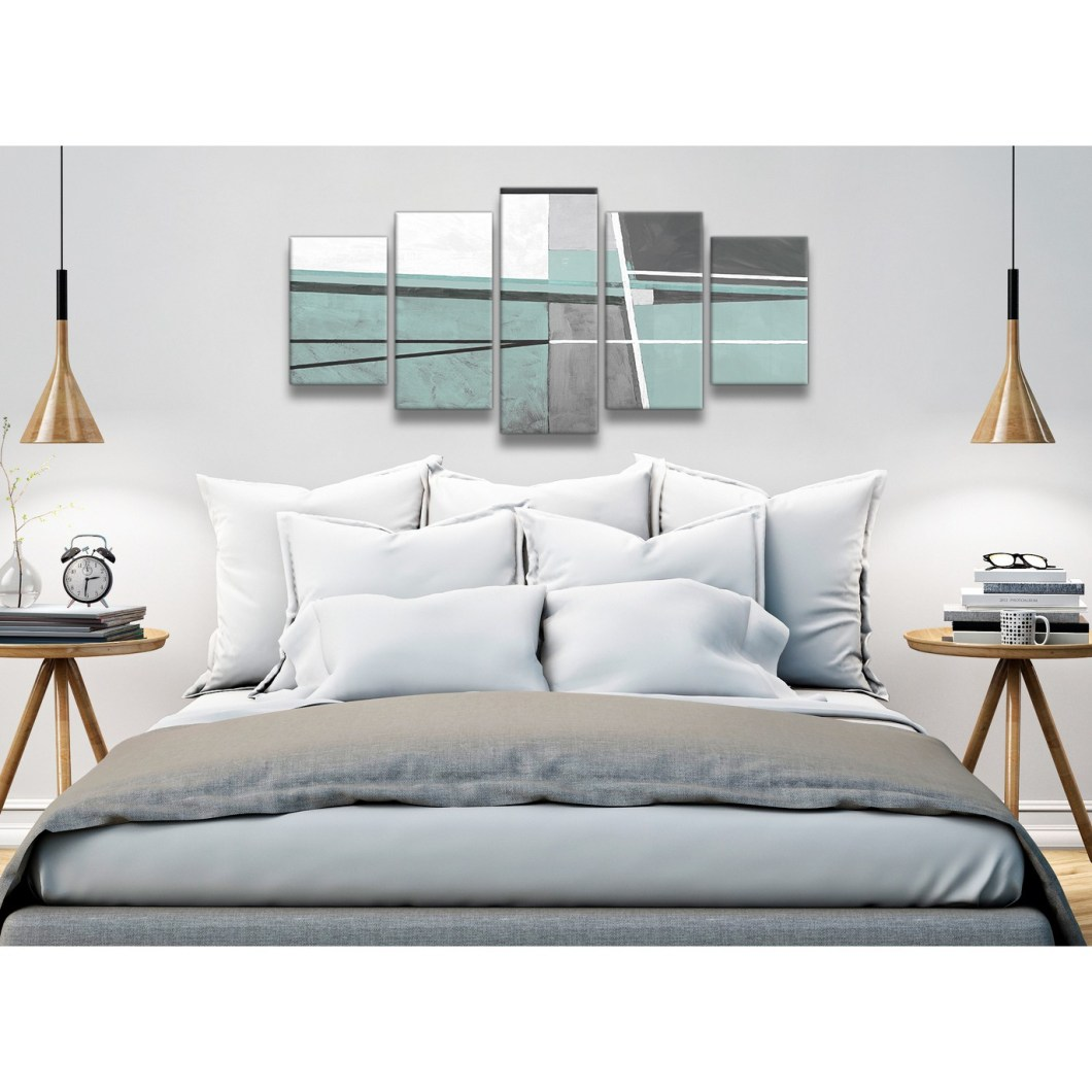 Duck Egg Blue And Grey Bedroom Ideas