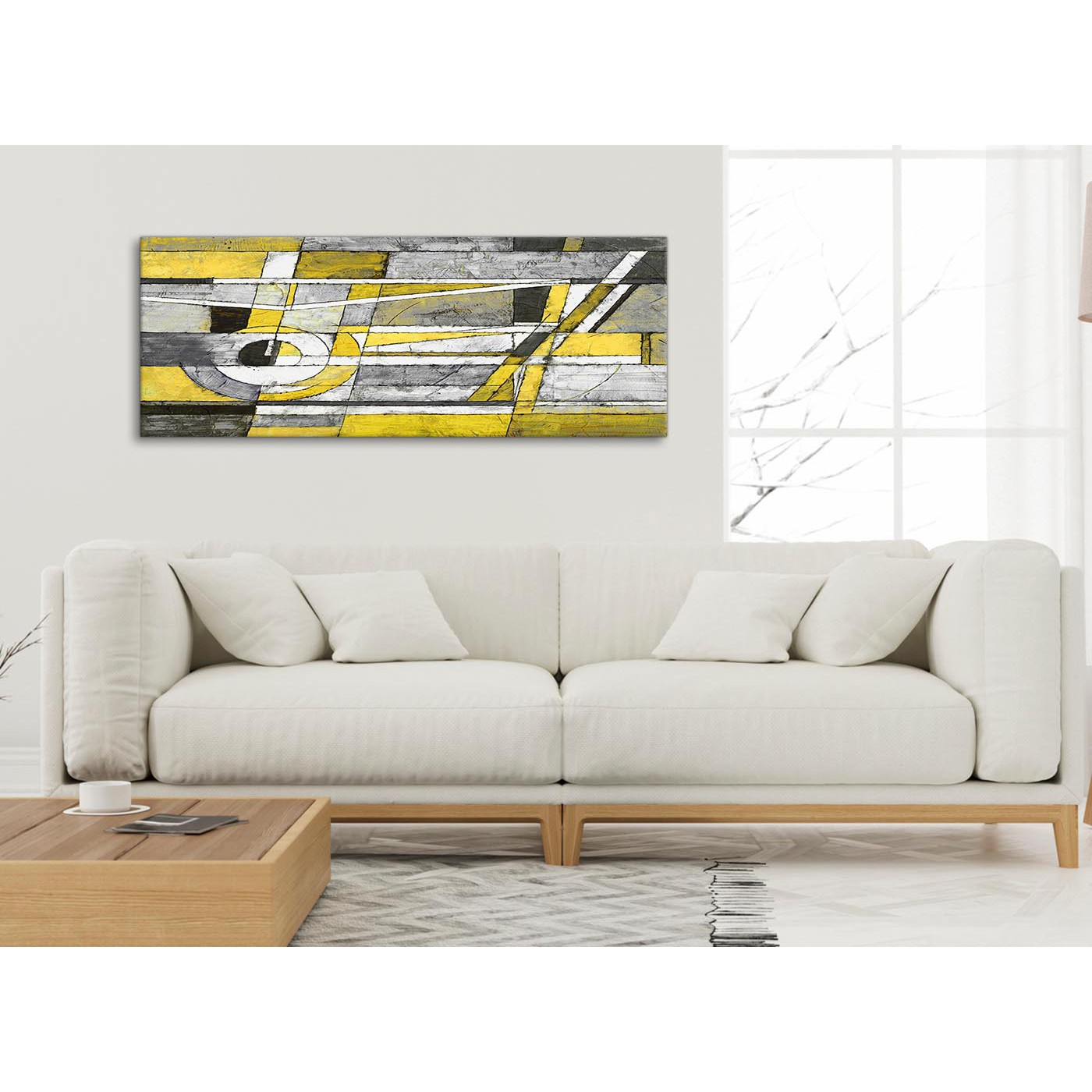 nice artwork living room sofas ideas yellow grey painting canvas wall art accessories display gallery item 3 modern pictures abstract 1400 120cm print 4