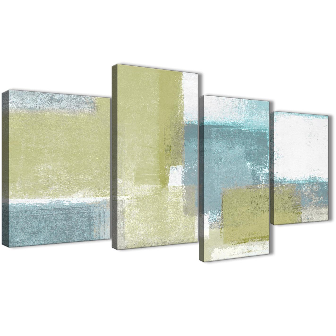 Oversized Abstract Wall Art Brown Cream And Black