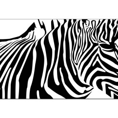 Cheap Cream Sofa Thomasville Ashby Sleeper Black And White Canvas Art Of An Abstract Zebra