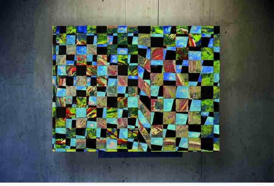 """Bild 1 aus der Serie """"Pergola"""", 160 x 110 cm, F. Schleeh"""