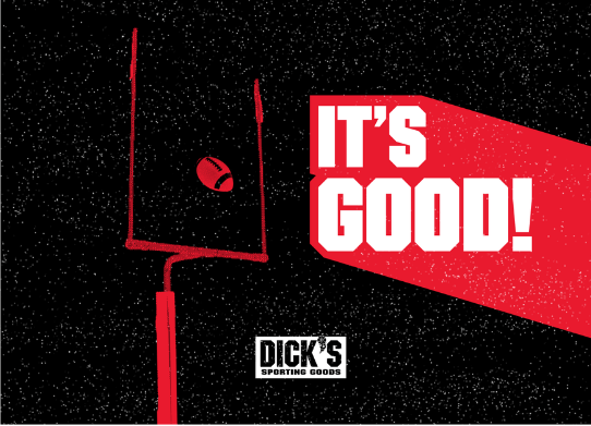 sports marketing - dick's sporting goods