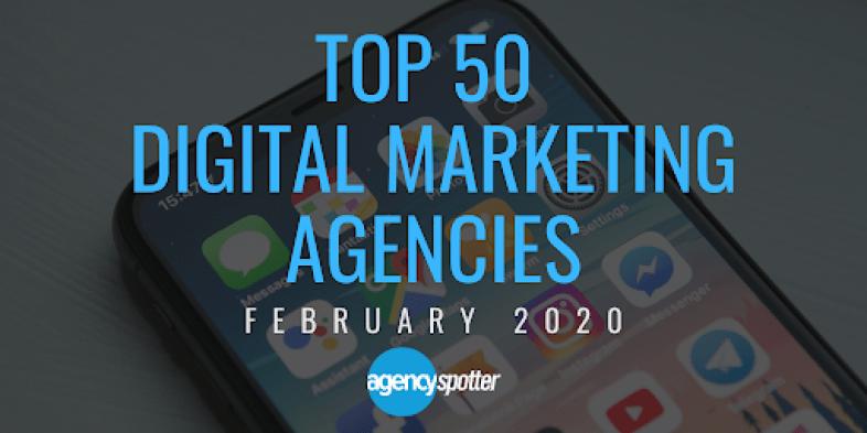 top 50 digital agencies