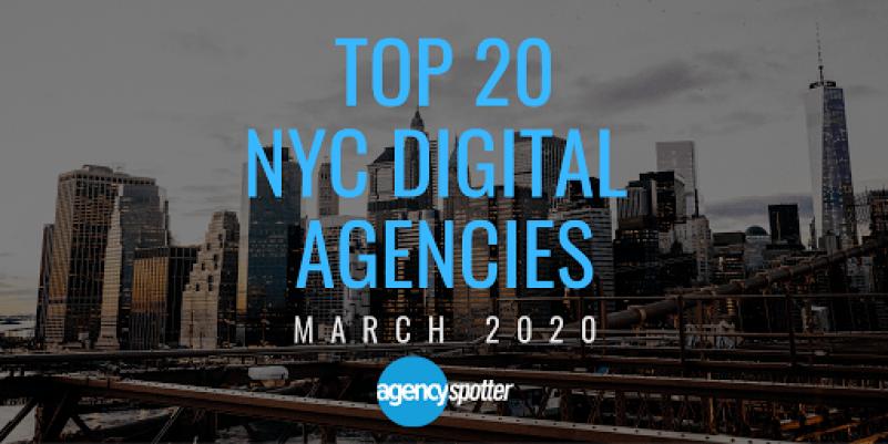 top 20 NYC digital agencies
