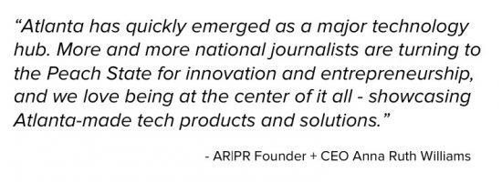 What Atlanta means to PR firm AR PR