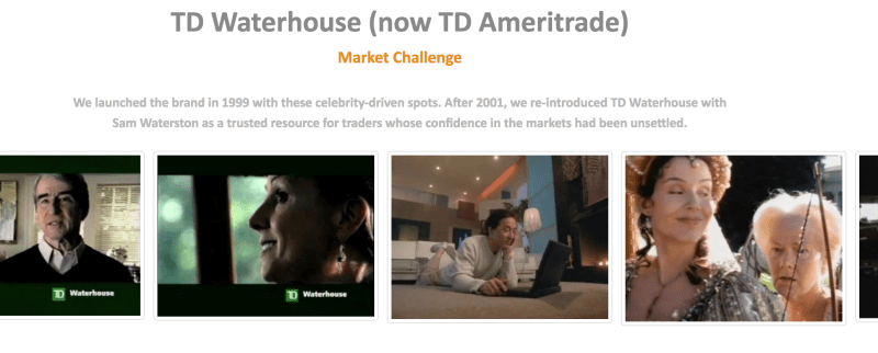 BrandedCultures TD Waterhouse Ad