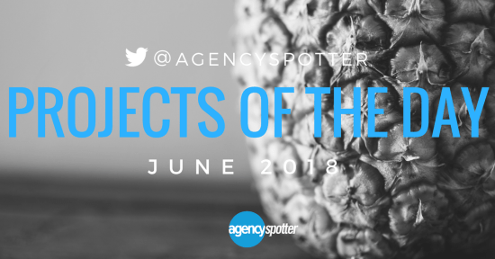 Agency spotter june projects of the day twitter