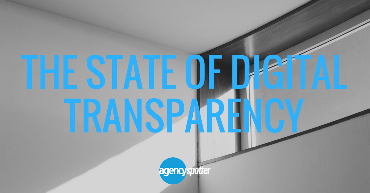agencyspotter.com - View all posts by Paul Weston → - The State of Digital Advertising Transparency and the CMO