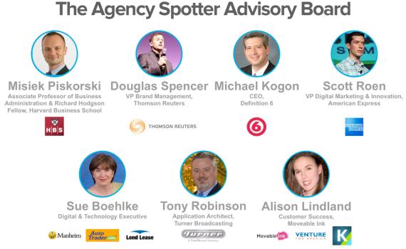 The Agency Spotter Advisory Board April 2013