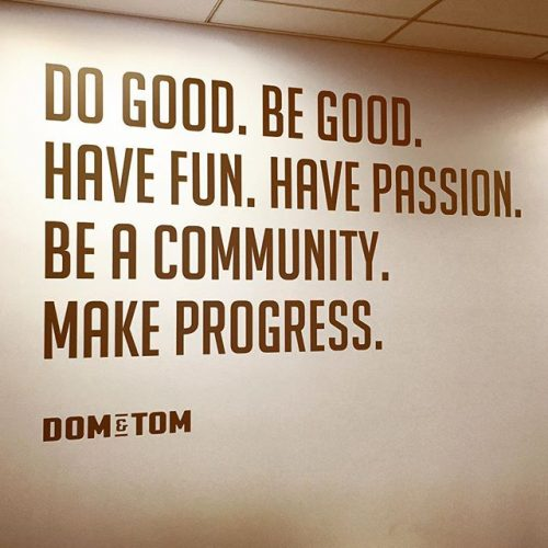 Dom and Tom Motto