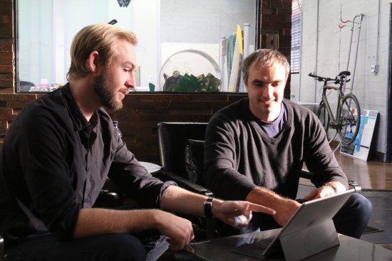 Exec team - Andrey and Sam