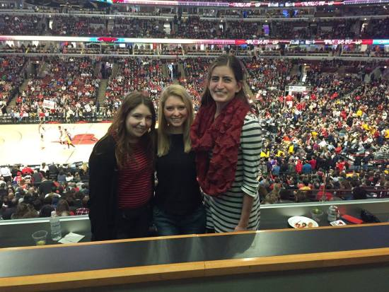 FRED Team at Bulls Game